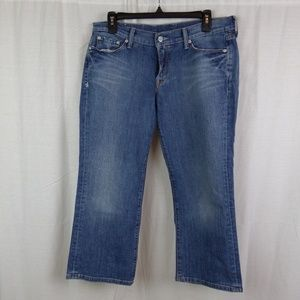 Lucky Brand Classic Rider Capri Jeans Size 8/29